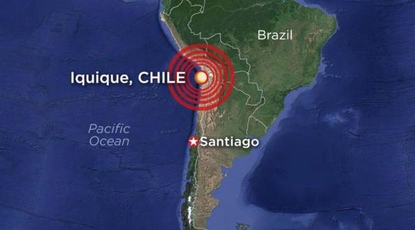 Un séisme d'une magnitude de 8,2 a frappé le Chili : Alerte au Tsunami