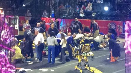 Etats-Unis : Huit acrobates victimes d'une grave chute de plus de dix mètres