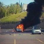 Explosion d'un véhicule à Magog - Un homme d'une soixantaine d'années grièvement blessé