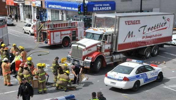 Grave accident dans La Petite-Patrie : Deux femmes happées par un camion