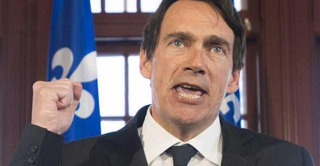 Pierre Karl Péladeau plaide pour la cause de la Société Radio-Canada