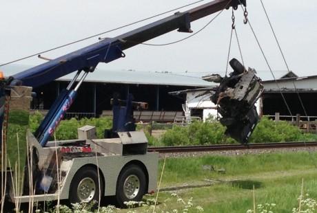 Collision mortelle de Saint-Liboire : Un geste volontaire pourrait être la cause de l'accident