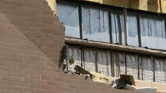 Edmonton : Le mur arrière de l'hôtel Westin s'est effondré
