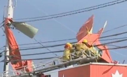 Arthur : Les citoyens de la Gaspésie retrouvent progressivement l'électricité