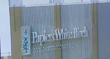 Un incendie maîtrisé dans un entrepôt de Papiers White Birch