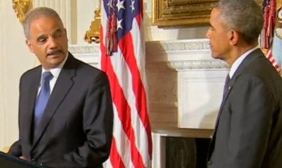 Eric Holder démissionne de son poste de ministre américain de la Justice