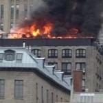 Un violent incendie enregistré dans le Vieux-Montréal : Plusieurs personnes évacuées