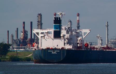 Le pétrolier Genmar Daphne stoppé aux Escoumins à cause d'une pompe d'incendie d'urgence défectueuse