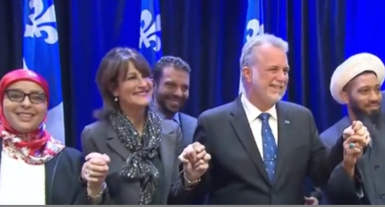 Le Premier Ministre Philippe Couillard s'est entretenu avec la communauté musulmane