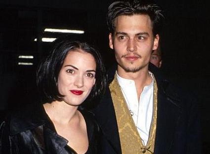 Johnny Depp n'a jamais été violent, selon Winona Ryder