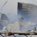Violent incendie dans une ferme de Saint-Augustin-de-Desmaures
