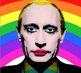 Russie : Une photo interdite de Vladimir Poutine